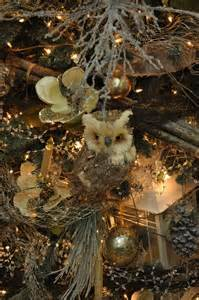 woodland christmas tree decorations trim the tree