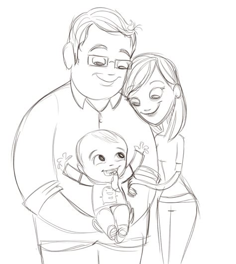 family sketch gallery