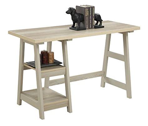 convenience concepts designs2go trestle desk convenience concepts designs2go trestle desk weathered