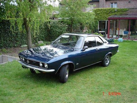1975 opel manta 1975 opel manta photos informations articles