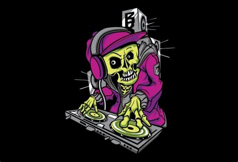Tshirt Dj Skull dj skull buy t shirt designs