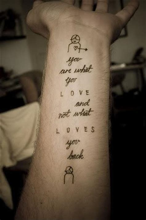 tattoo love quotes tattoos love quotes for him quotesgram