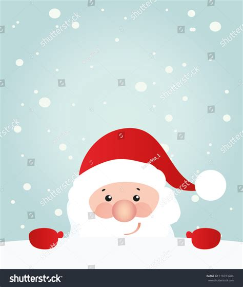 free santa card templates retro styled card santa claus stock vector