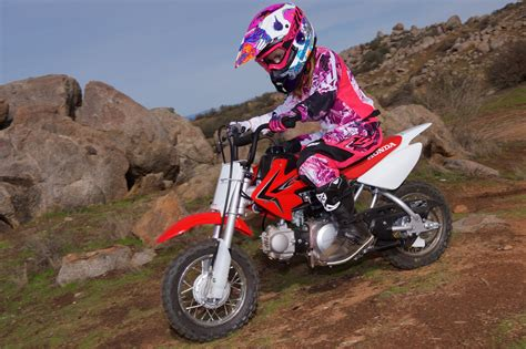 2017 Honda CRF50F Review   Entry Level Motorcycle
