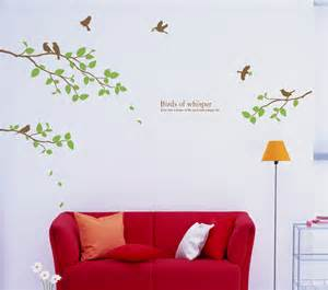 Huge Wall Stickers Birds Amp Large Tree Wall Decals Stickers Wallstickery Com