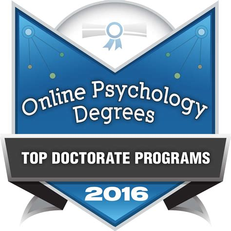 Best Doctoral Programs In Education 5 by Top 25 Doctor Of Psychology Degree Programs In 2016