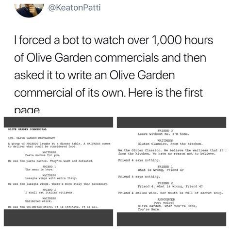 olive garden bot overview for tuskus