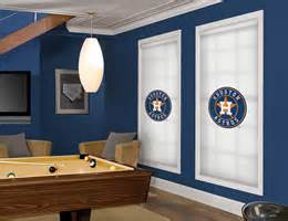 officially licensed mlb houston astros window blinds