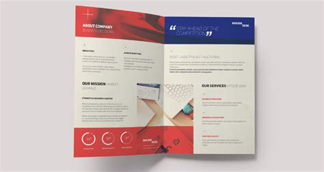 single fold brochure template breede bi fold brochure