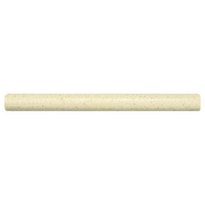 merola tile contempo light travertine pencil 5 8 in x 6 in wall trim tile wgm8pnlt the home