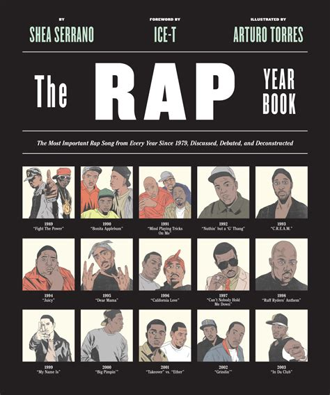 the years books shea serrano s the rap year book is a history of rap