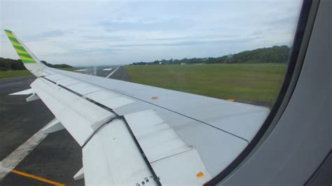 citilink landing citilink indonesia airbus a320 sharklet landing at