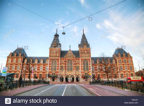 amsterdam museum national rijksmuseum in amsterdam netherlands stock photos