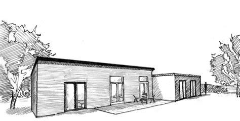 T De Garage by Plan Maison De Plain Pied Avec Garage Ooreka