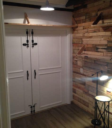 Lightweight Barn Doors Lightweight Barn Door Diy Mini Barn Doors Doors Outdoor Living Sliding Barn Door Tutorial