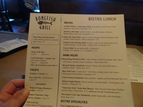 family garden carteret nj menu review bonefish grill s bistro lunch is a winner