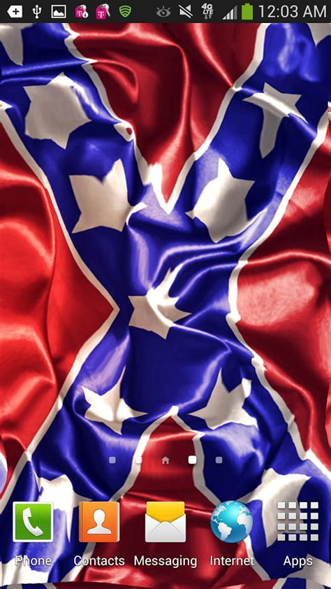 rebel flag touch l confederate flag wallpaper for iphone wallpapersafari