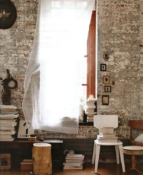 exposed brick wall exposed brick wall decor spark
