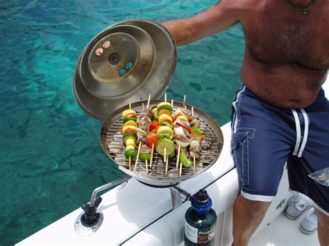boat grill boat grills and grilling page 3 the hull truth