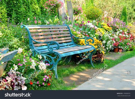 flower bench flower lovely bench lavender garden full hd flower rose