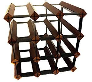 Pre Made Wine Racks by Requisite Goods Modular Wine Rack Cube Pre