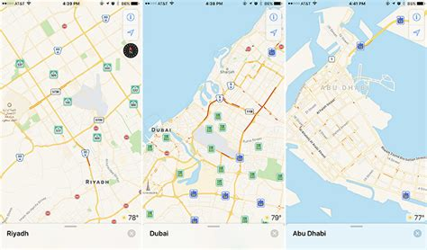 middle east map update apple maps expands into middle east with traffic for saudi