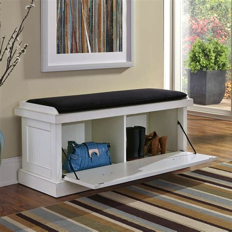 Shoe Home Decor by White Entryway Bench Shoe Shelves Stabbedinback Foyer