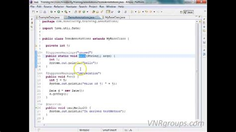 tutorial java annotations java annotations tutorial with programming youtube