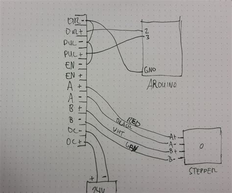 help with wiring stepper motor to div268n driver