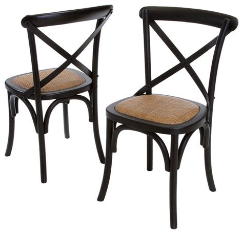 Cross Back Dining Chairs Folkner Cross Back Dining Chair Modern Dining Room Los Angeles By Great Deal Furniture