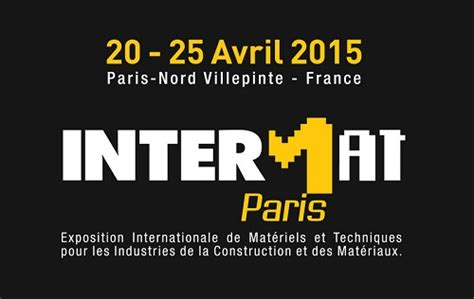 upcoming events intermat 2015 construction shows