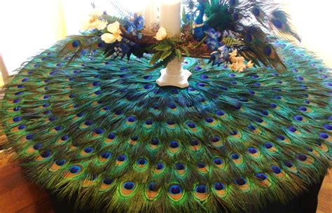 Ordinary Peacock Living Room #5: Peacock-home-decor-peacock-feather-place-mat-or-centerpiece-decoration-ivyndell-within-peacock-home-decor-peacock-home-decoration-for-you-who-love-the-majesty-effect-of-the-bird.jpg
