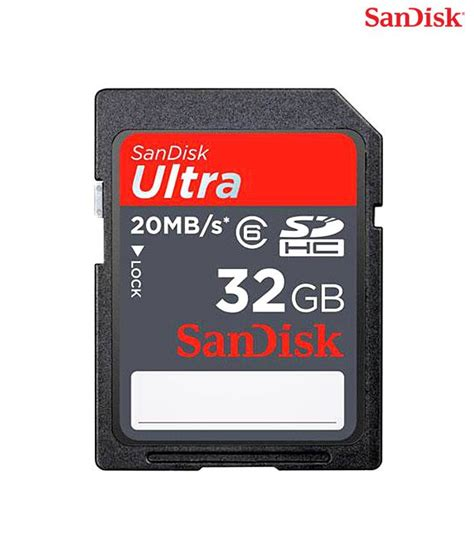 Sandisk Ultra Sdhc 32gb Class 10 sandisk ultra sdhc 533x best price in india on 1st may