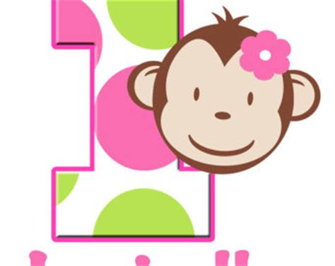 mod monkey coloring pages pink and green monkey clipart