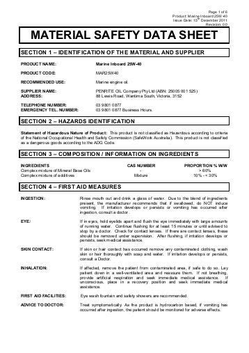 safety data sheets safe work australia