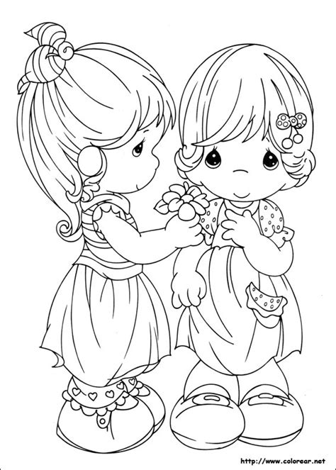 coloring pages precious moments jesus loves me dibujos para colorear de preciosos momentos