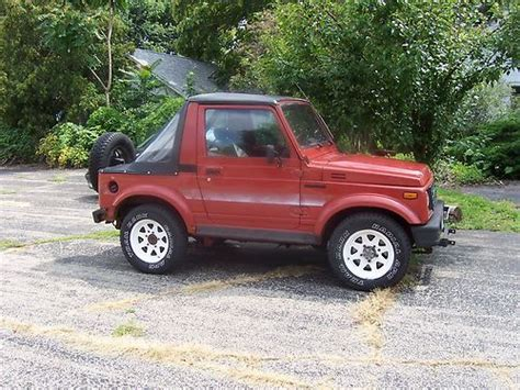 Suzuki Samurai Soft Doors Sell Used Suzuki Samurai Road 4wd Stock
