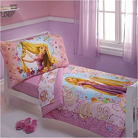 Disney Disney Tangled Toddler Bedding Set 4pc Princess Tangled Bed Set