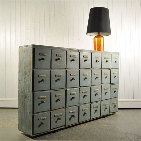 Apothecary Drawers Uk by Dusty Blue Apothecary Drawers Original House Vintage