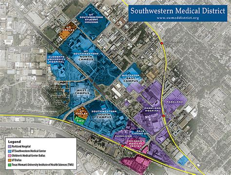 texas childrens hospital map southwestern district map