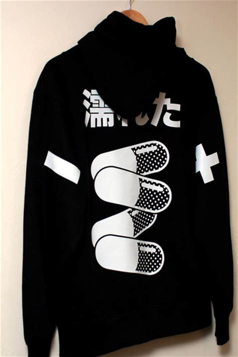 Hoodie Anime In The Streets Zemba Clothing sweater japanese japan japanese sweatshirt pills