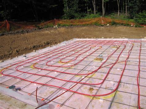 Heated Cement Floor by Brainright Radiant Floor Heating