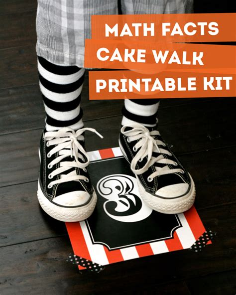 printable numbers for cake walk math facts cake walk for class parties paging supermom