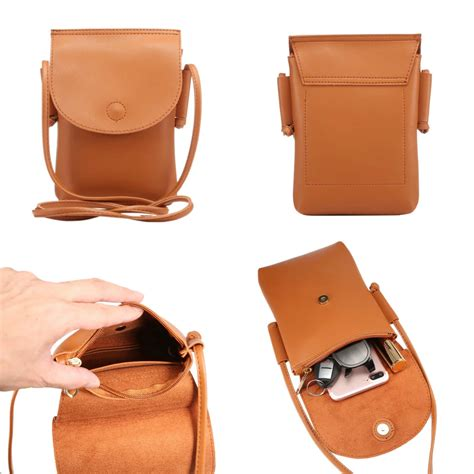 Cross Pouch handbag cross shoulder bag leather pouch for