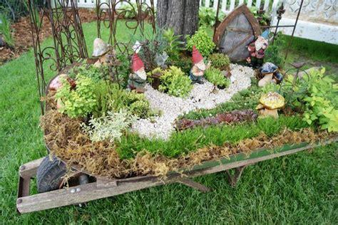 Gnome Garden Ideas Gnome Wheelbarrow Where The Is Gardens Wheelbarrow And Summer