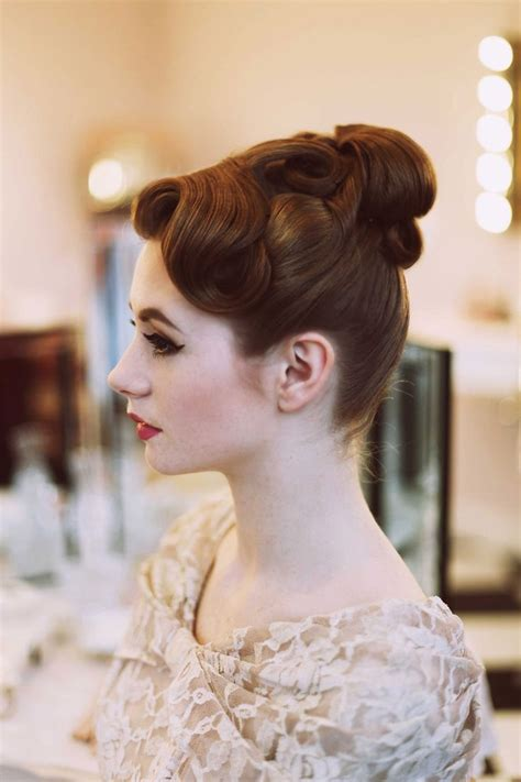 50s prom hairstyles the 25 best 1950s updo ideas on pinterest 50s