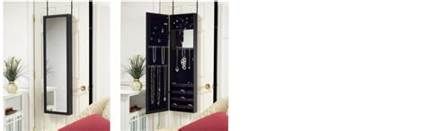 plaza astoria jewelry armoire amazon com plaza astoria wall door mount jewelry armoire