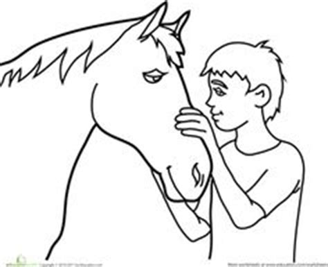 educational horse coloring pages horse printable color by number page colors number