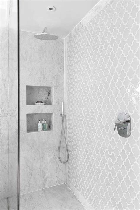 white shower 17 best ideas about shower tiles on pinterest master