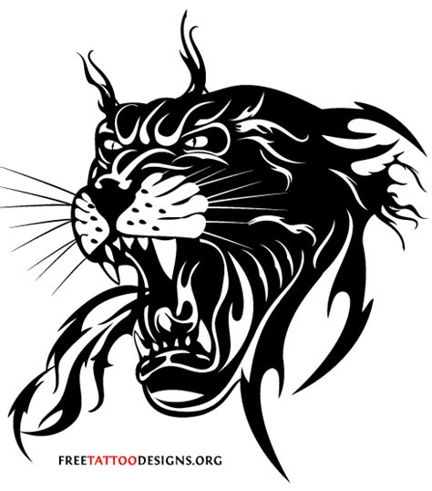 panther tribal tattoos 80 panther tattoos meanings and ideas